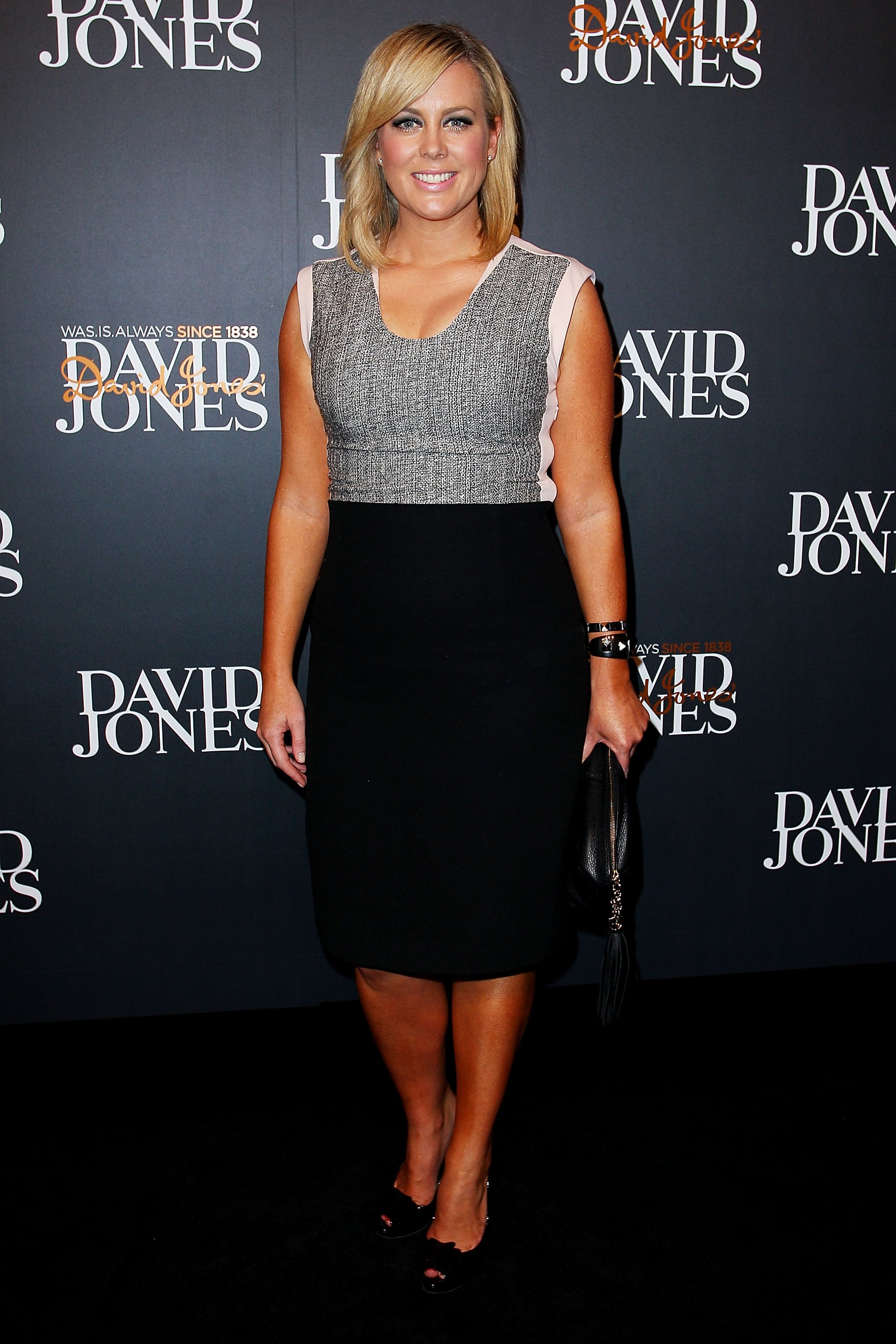 Russell Crowe and Samantha Armytage flirt their way