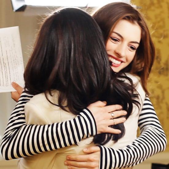 Anne Hathaway Video Interview About Glee and Matt Damon 2011-08-19 09:52:32