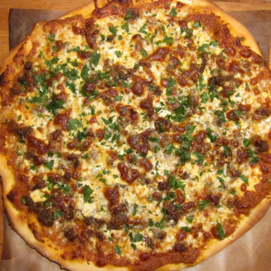 Lamb Sausage Pizza Recipe