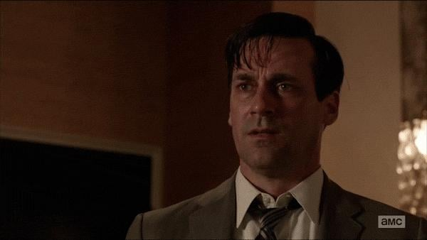 Here's what happens when Don Draper loses control.
