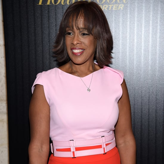 Gayle King's Antonio Berardi Dress Instagram 2016