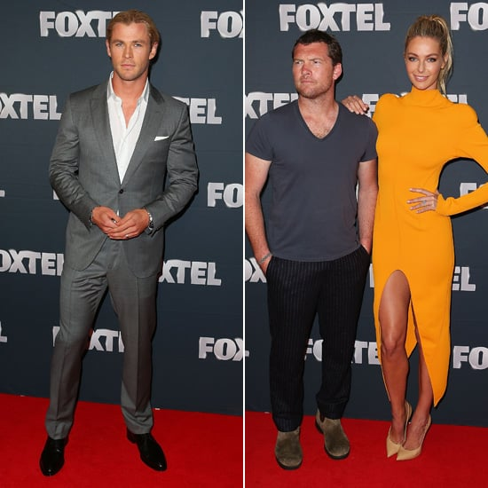 Chris Hemsworth and Jennifer Hawkins Help Foxtel Launch Its Big Year of TV