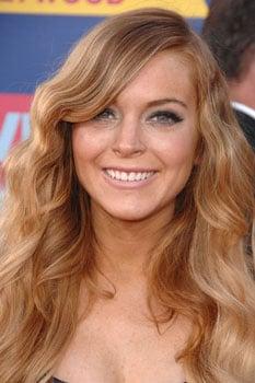 Lindsay Lohan at MTV VMAs: Hair and Makeup