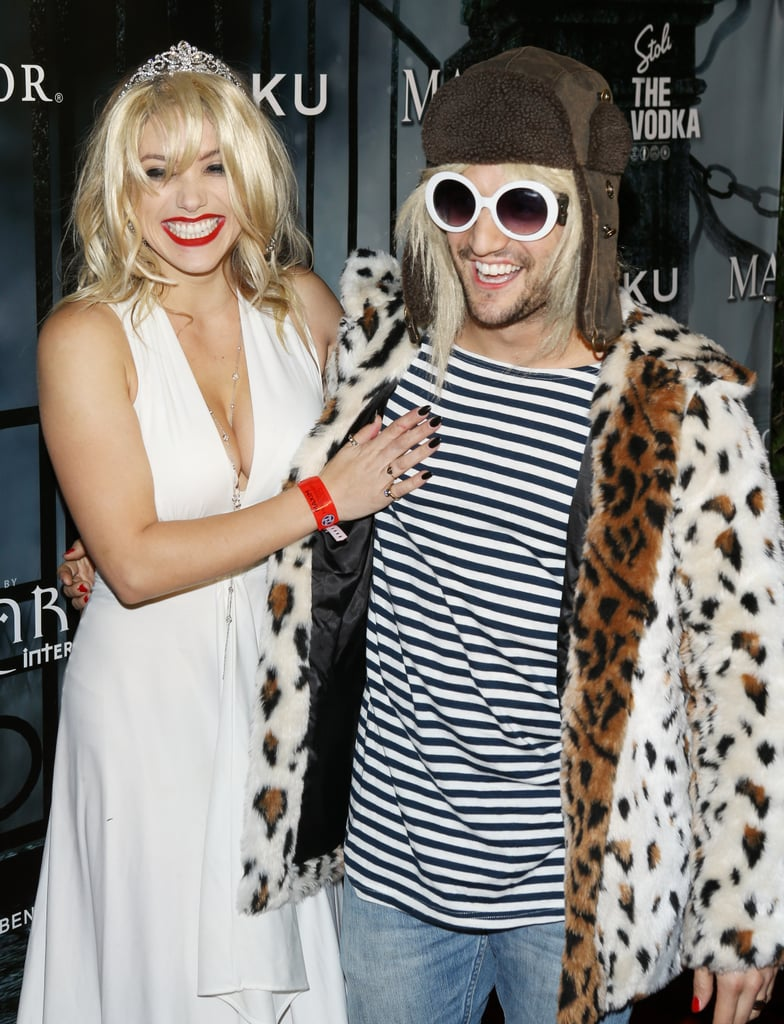 Mark Ballas as Kurt Cobain and His Girlfriend as Courtney Love
