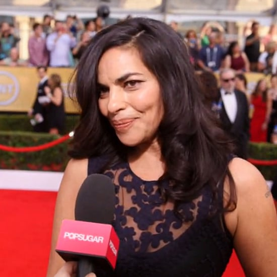 Homeland's Sarita Choudhury Interview at SAG Awards (Video)