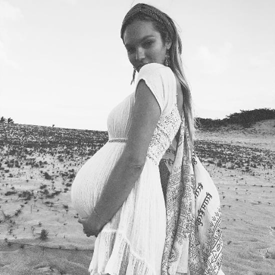 Candice Swanepoel Pregnancy Style