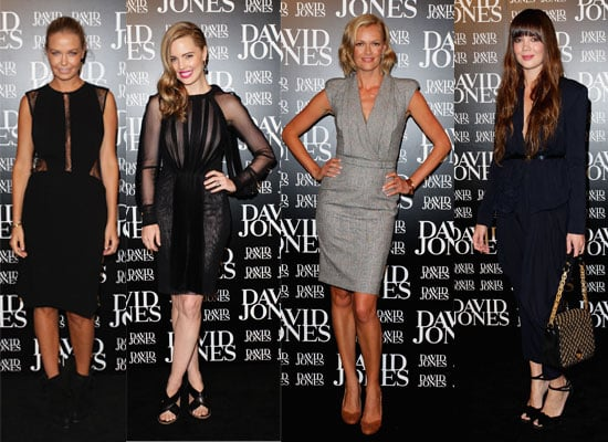 Celebrity Pictures From David Jones AW 2011 Show - Spot The Stylish Celebs On Arrival!