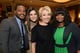 Ryan Coogler, Sandra Bullock, Emma Thompson, and Octavia Spencer took a happy group snap at Friday's AFI Awards lunch.