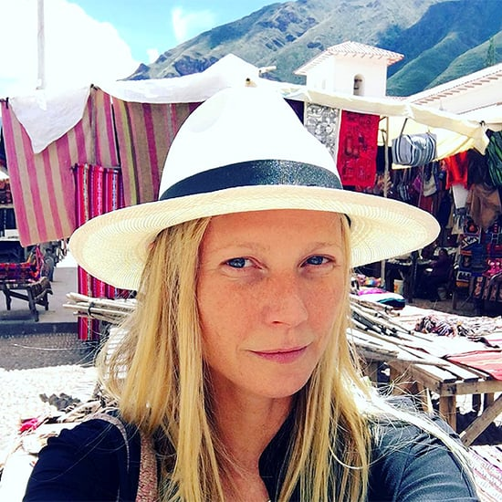 The Travel Continues as Gwyneth Paltrow Takes Kids to Peru Following Chris Martin's Coldplay Concert in Argentina