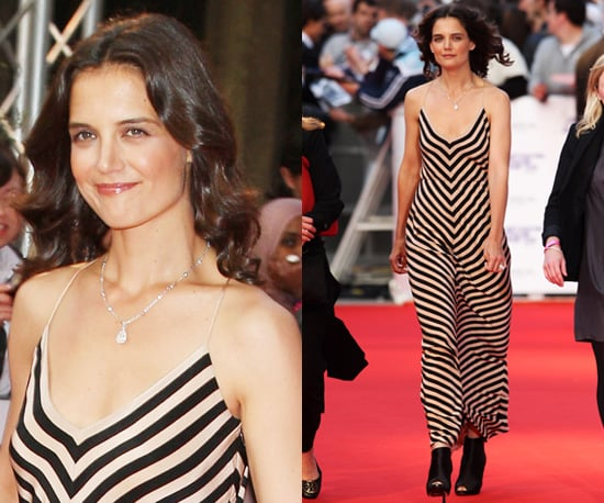 Photos of Katie Holmes at the 2010 National Movie Awards in London