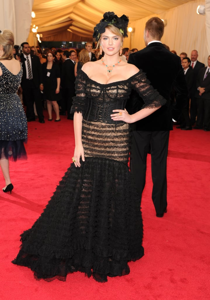Kate Upton at the Costume Institute Ball