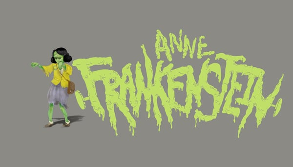 """Anne Frankenstein  The Concept: """"The Manhattan Project is best known for inventing the atom bomb, but that wasn't its only creation. The scientists of this clandestine research program worked in the secret annex of their secret laboratory, behind the secret bookshelf in their secret building to create Anne Frankenstein — one part precocious Jewess, one part Gestapo-strangling monster. Some claim she was never deployed, but how does one account for Nazi soldiers found dead with finger-shaped bruises around their necks?"""" The Real Deal: Anne Frank is one of the most important figures from the Holocaust thanks to her heartfelt diary that's touched millions around the world."""