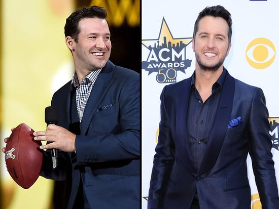 Tony Romo Threw Luke Bryan a Pass at the ACMs - See What Happened Next