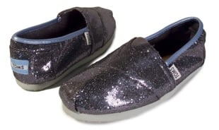 TOMS Navy Glitter Canvas Shoes: Love It or Hate It?