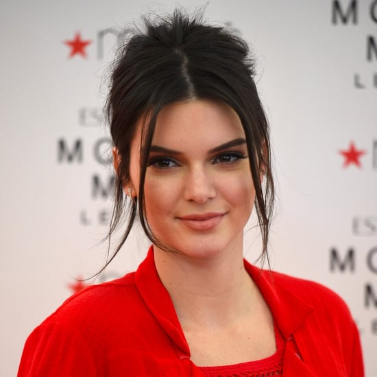 Kendall Jenner With Acne