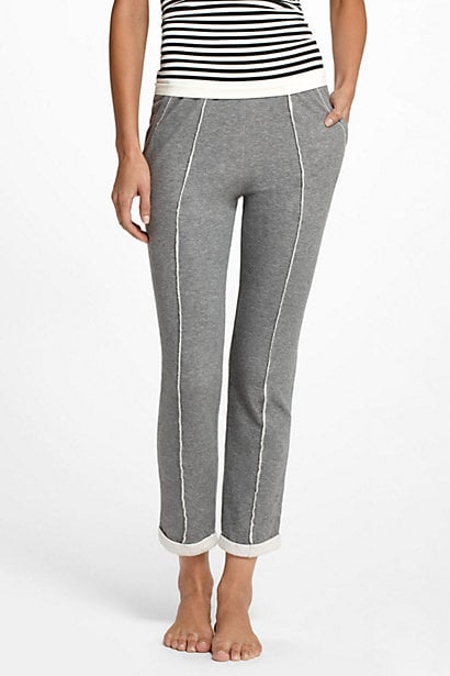 Contrasting piped seams give these Anthropologie Spliced Lounge Pants ($58) the perfect polished touch.