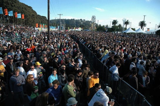 Playlist of Songs for the 2009 Treasure Island Music Festival