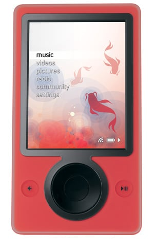 Red Zune Out June 10th