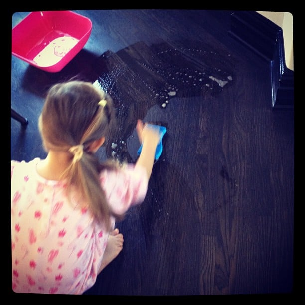 Busy Philipps's In-House Cleaning Crew
