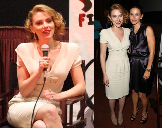 Photos of Scarlett Johansson and Courteney Cox Screening Directorial Debuts at LA Shorts Fest '09