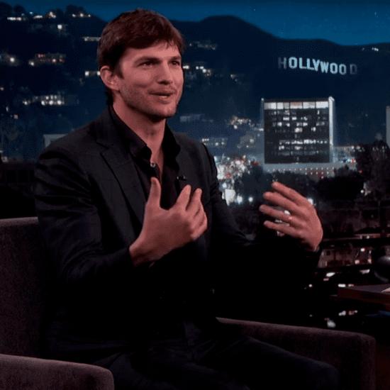 Ashton Kutcher on Jimmy Kimmel Live March 2016