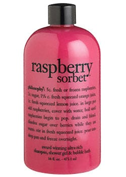 Product Review: Philosophy Raspberry Sorbet