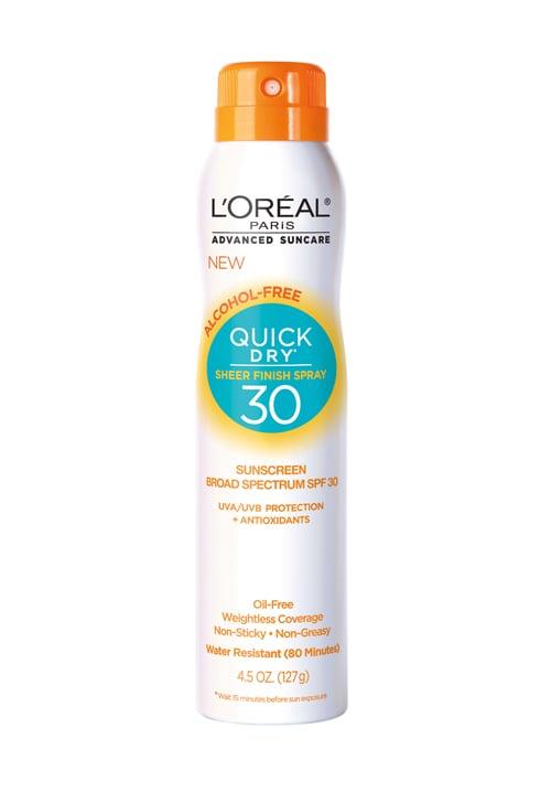 L'Oréal Advanced Suncare Quick Dry Sunscreen