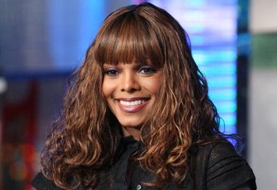 Janet Jackson's new haircut