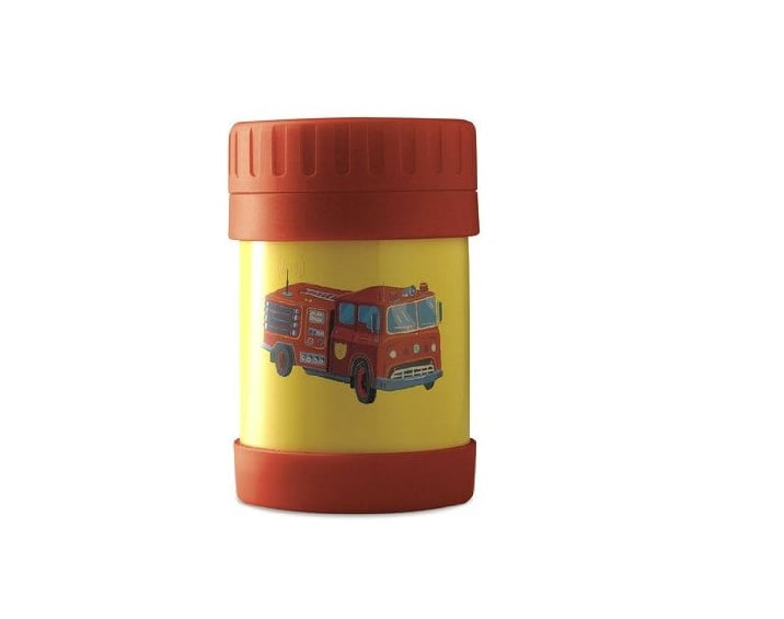 The fire truck isn't the only thing containing the heat, thanks to this double-wall insulated food container ($22).