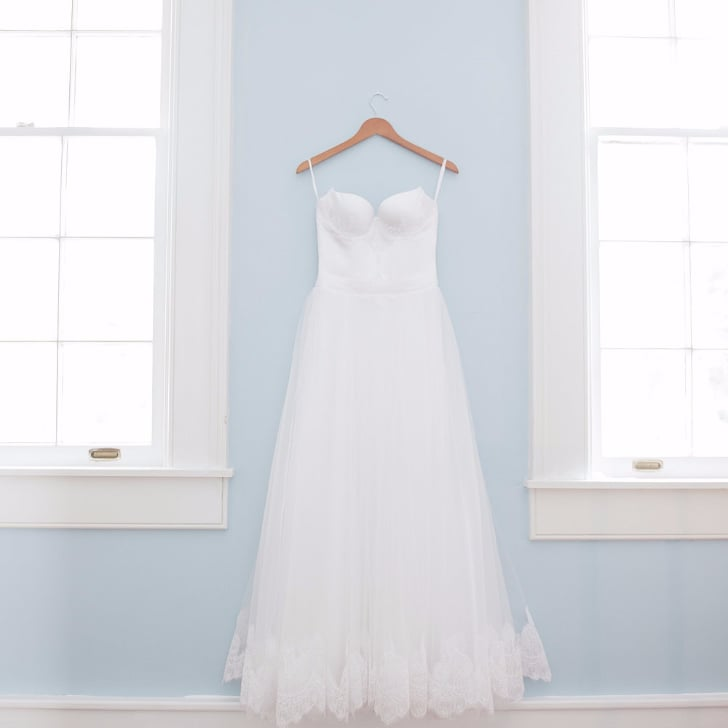 How much should you spend on a wedding dress popsugar for How much for a wedding dress