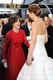 Sally Field shared a laugh with Jennifer Lawrence on the red carpet.