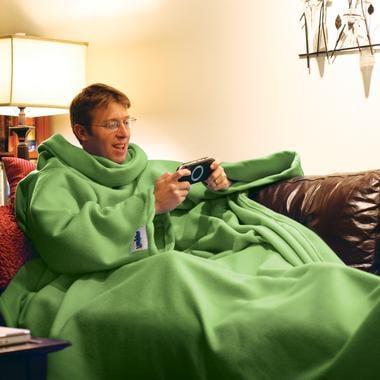 The Slanket: Totally Geeky or Geek Chic?