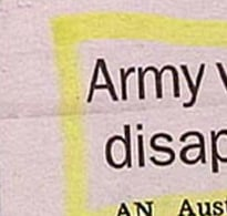 Camouflaged Army Vehicle Disappears