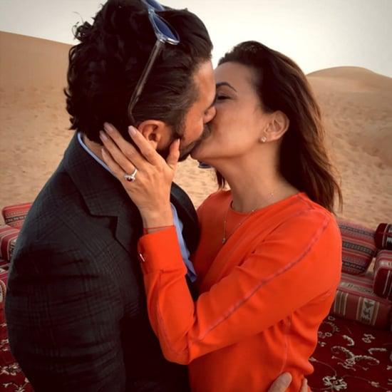 Celebrity Engagement Instagram Pictures