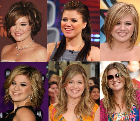 Which of Kelly Clarkson's Hairstyles Do You Prefer?