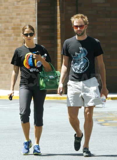Nikki Reed and Paul McDonald Take Their Engagement Glow to the Gym