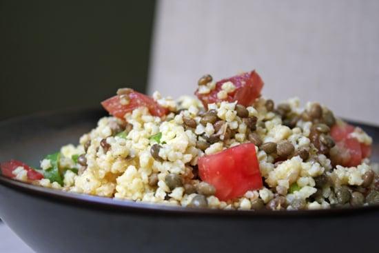 Millet Lentil Tomato Salad