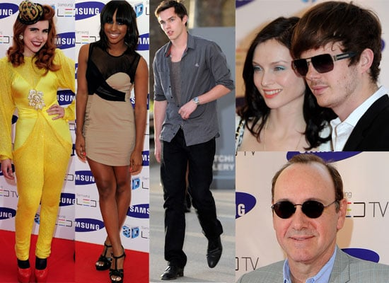 Photos from the Samsung 3D TV Launch at the Saatchi Gallery With Kevin Spacey, Alexandra Burke, Nicholas Hoult