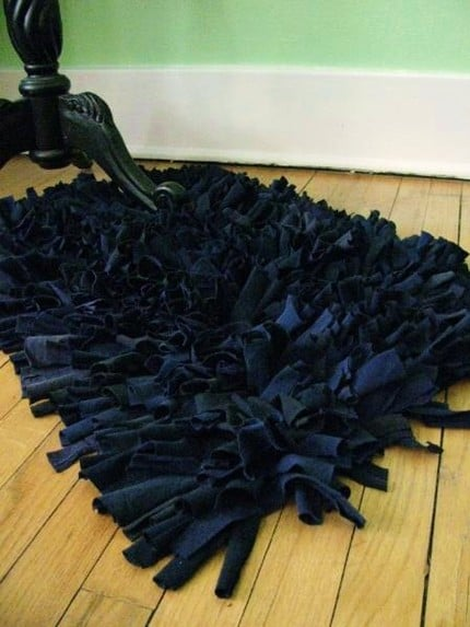 Etsy Find Recycled T Shirt Rug Popsugar Home