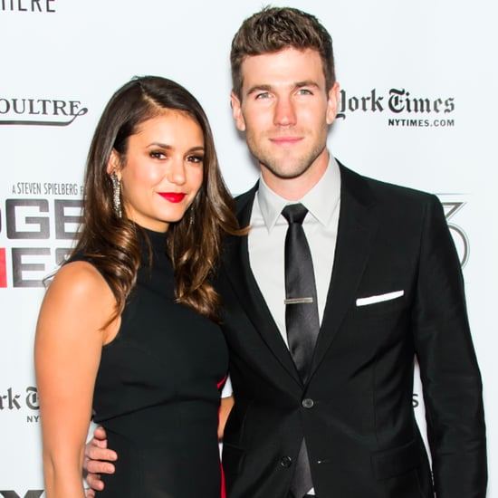 Nina Dobrev and Austin Stowell on Red Carpet October 2015