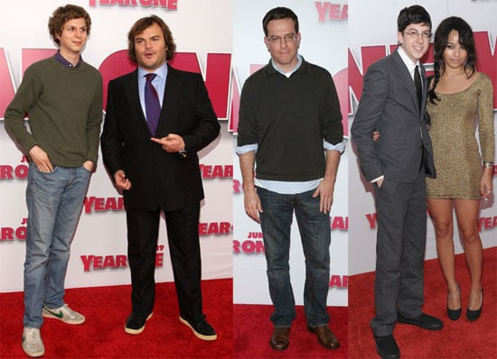 Photos of Michael Cera, Jack Black, Ed Helms, Zoe Kravitz at the Premiere of Year One in LA