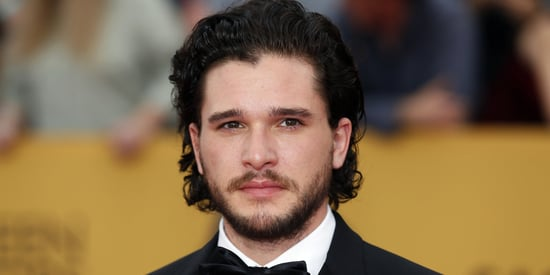 Kit Harington Looks Like A Goth Teenager Without His Beard