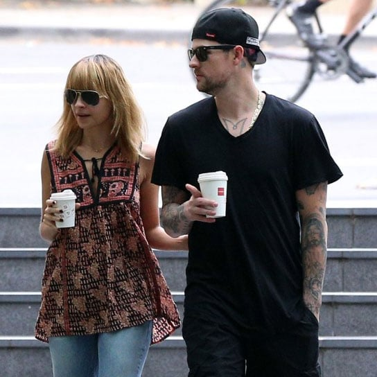 Nicole Richie and Joel Madden in Sydney Pictures