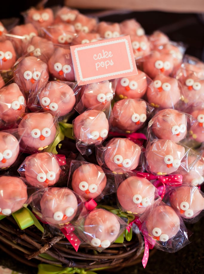 Owls Take the Cake Pops