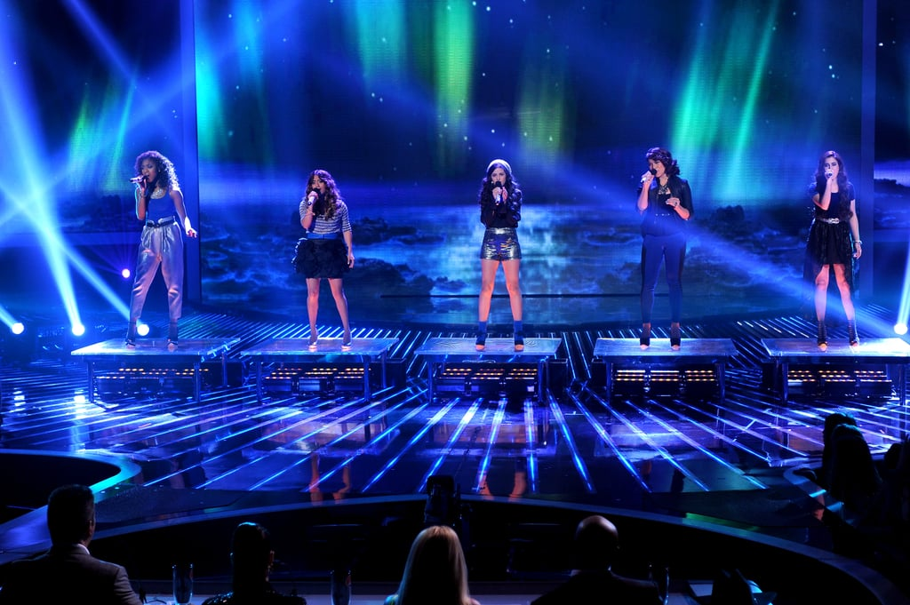 Fifth Harmony performed for the viewers.