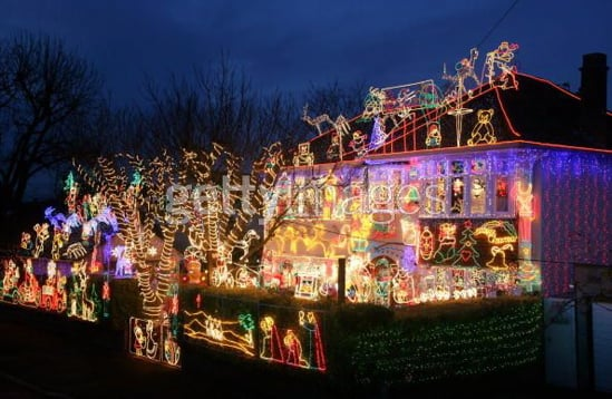 Love It or Hate It? Over-the-Top Holiday Light Displays