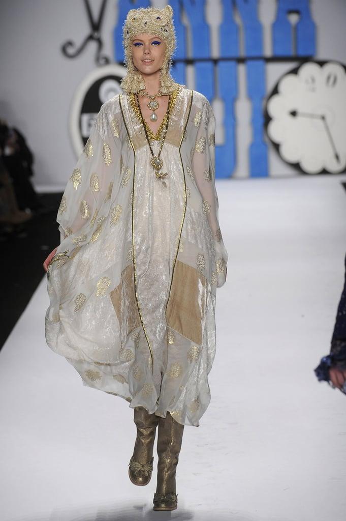 Anna Sui Fall 2012