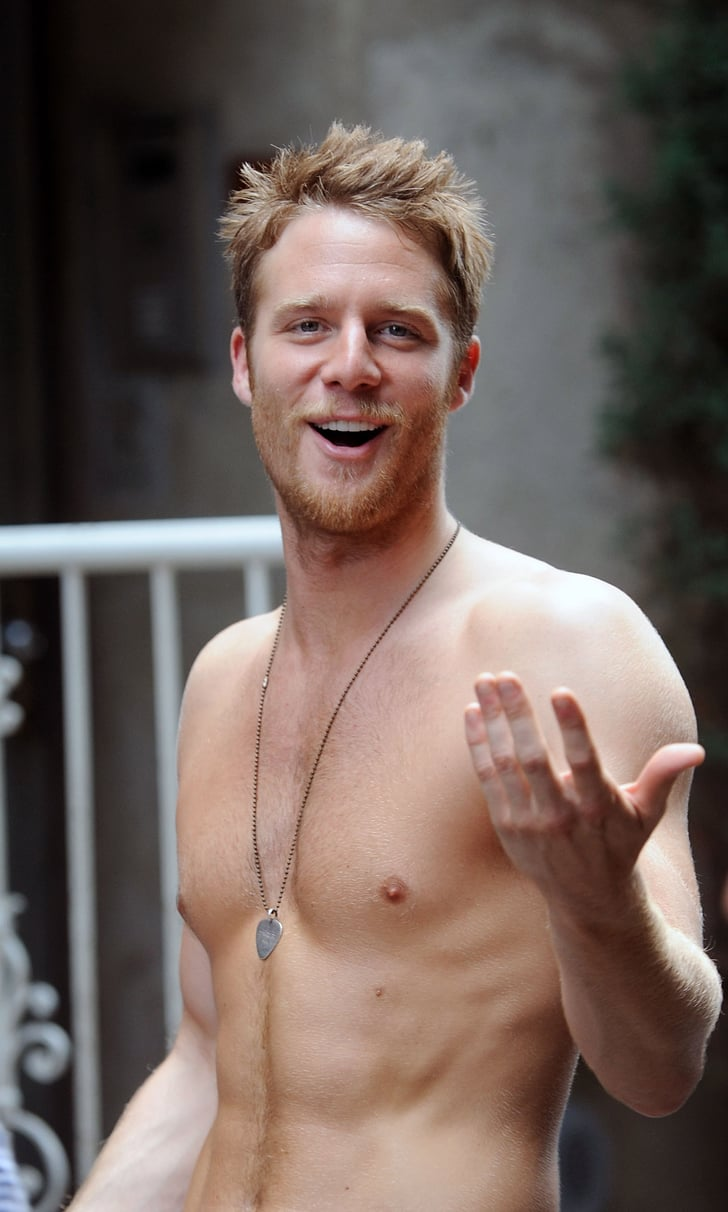 Jake McDorman got snapped shirtless on the set of Manhattan Love | This Weeks Cant-Miss