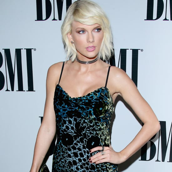 Taylor Swift Monique Lhuillier Dress at BMI Awards 2016