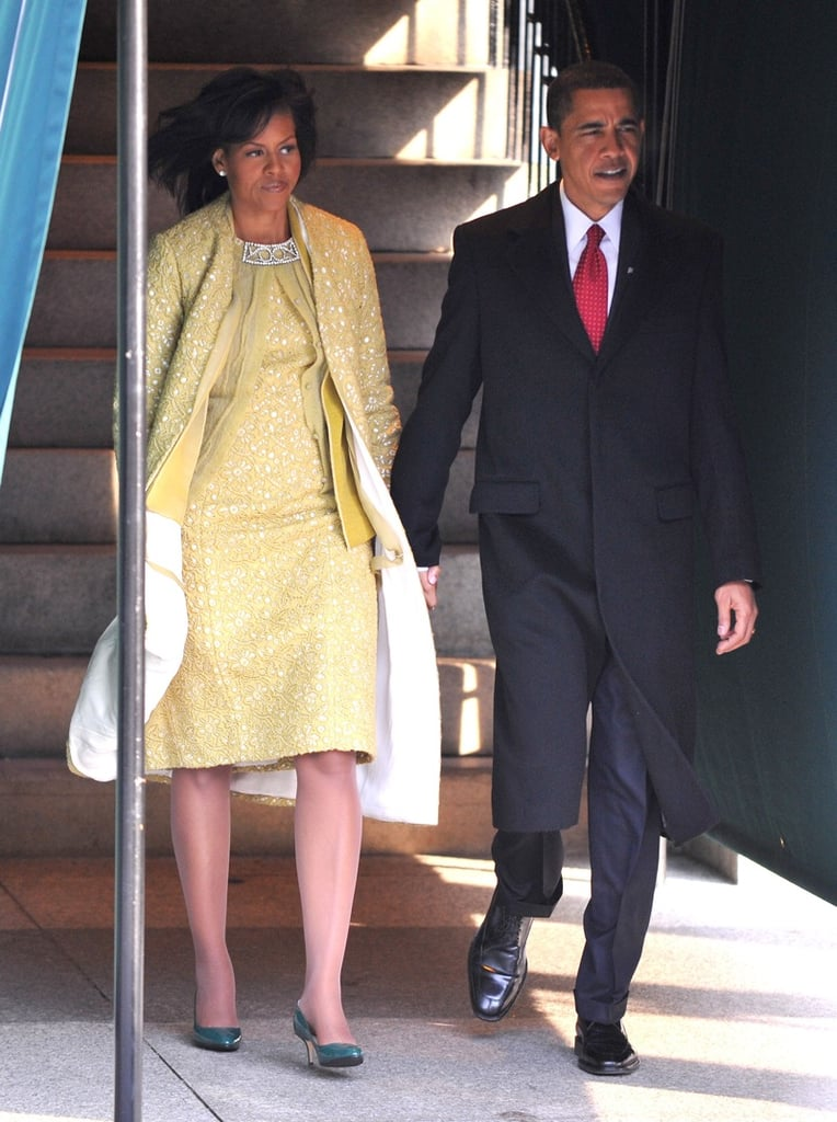 Michelle Obama In Isabel Toledo